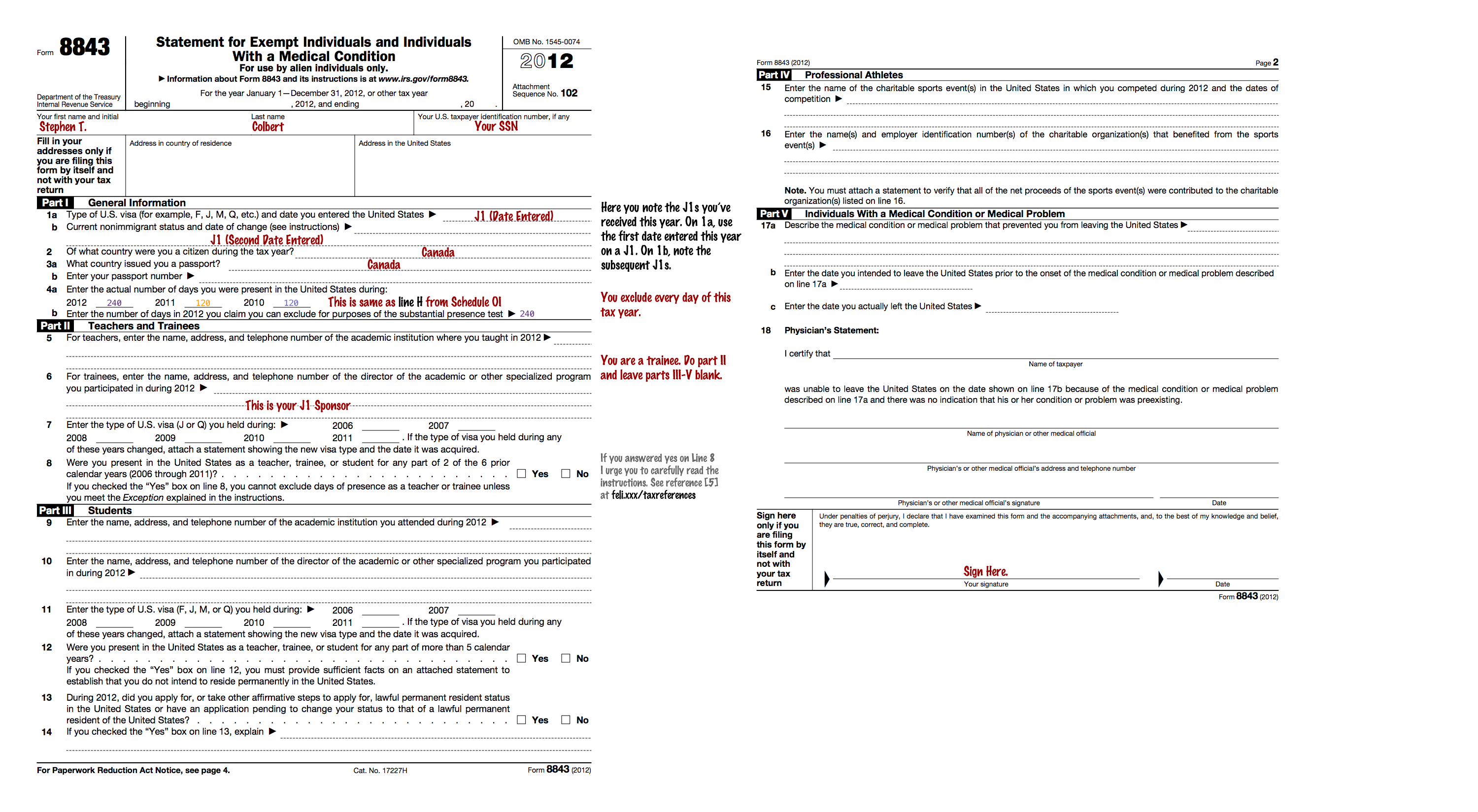 18 printable form 8843 sample templates fillable samples in pdf.